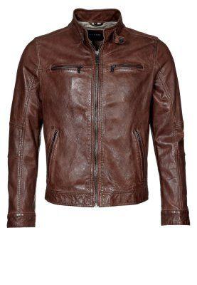 Oakwood JOHNNY Leather Jacket brown