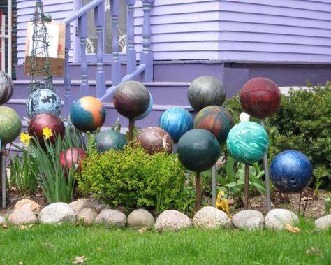 Comment Fabriquer Soi Meme Une Boule Decorative Pour Jardin