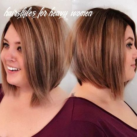 12 Hairstyles For Heavy Women Rambut Dan Kecantikan Rambut Kecantikan