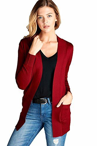Active Open Front Cardigan