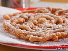 Easy Funnel Cakes   mrfood.com - I got a funnel cake maker and have yet to use it.  I need to try this one out