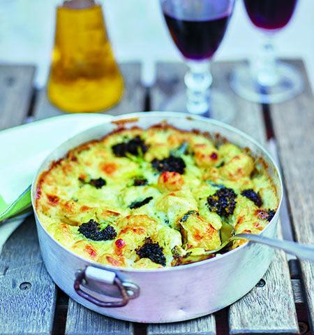 Gratinerad Gnoochi Med Broccoli Och Gorgonzola Recept