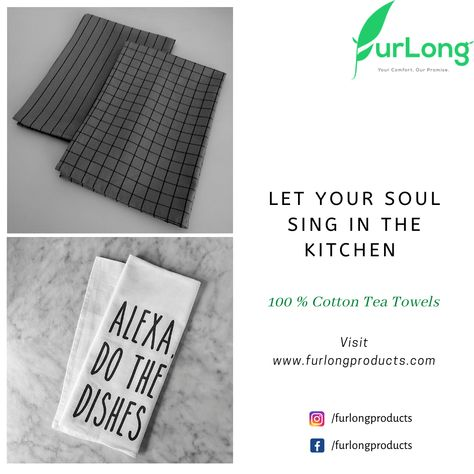 Follow us on our social media handles Instagram and Facebook at /furlongproducts and for more freshly brewed content check out our website furlongproducts.com. #purecottonteam#productsthatmatter #savetheplanet #ecommerce #amazon#flipkart #karur #ecofriendly #loveplanet #teatowels #manufacturer #makethechange#er#newdawn
