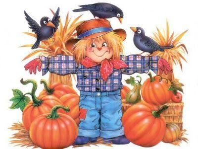 Dibujos A Color Espantapajaros A Color Laminas Infantiles Espantapajaros Fotos De Accion De Gracias