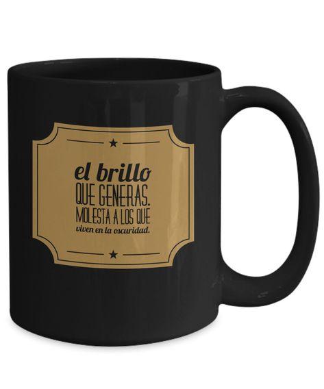 Excited to share the latest addition to my #etsy shop: Taza cafe brillar, taza de café divertidas, tazas personalizadas, taza de café inspiradoras, taza con mensajes positivos. #housewares #yes #tazacafe #tazadecafe #tazapersonalizada #funnymug #mug #mugs #custommug