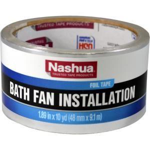 Deflect O 4 In Oval Skinny Duct Aluminum Dryer Vent Daf1 The Home Depot Fan Installation Bath Fan Nashua Tape