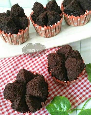 Resep Brownies Mekar Coklat Eggless No Mixer Oleh Chalistaa Kitchen Resep Makanan Ide Makanan Kue Lezat