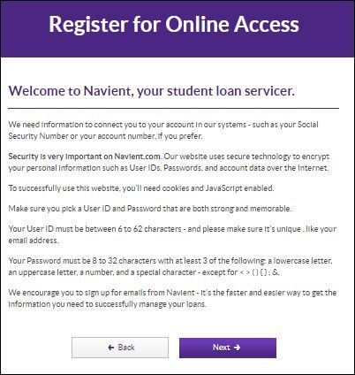 Navient Student Loan Sign In Navient Account Login Student Loans Student Login Student