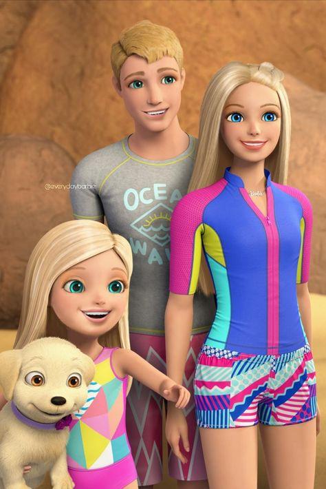 Barbie, Chelsea & Ken/Dolphin Magic/Wallpaper