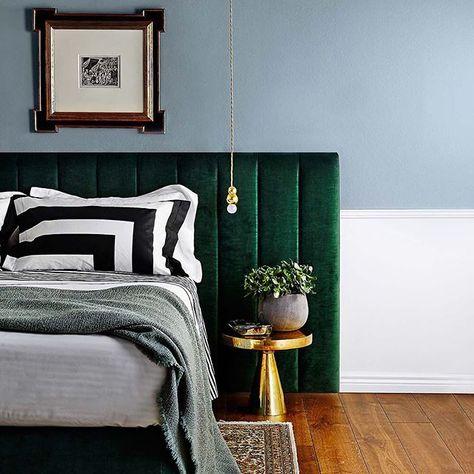 Bedroom, headboard, master bed, decor, interior decorating, makeover, design