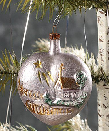 Loving This Merry Christmas Heart Ornament On Zulily Zulilyfinds Christmas Hearts Heart Ornament Christmas Bulbs