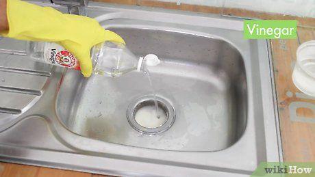 How To Unclog A Kitchen Sink Kitchen Sink Clogged Blocked Kitchen Sink Sink