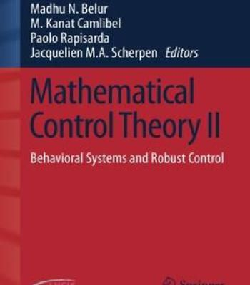 Mathematical Control & Related Fields