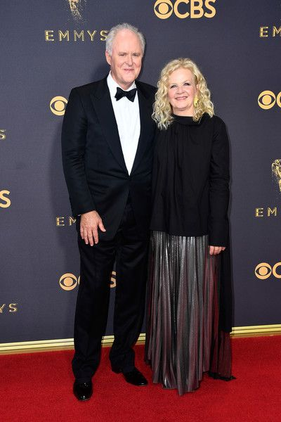 John Lithgow and Mary Yeager - The Cutest Couples at the 2017 Emmy Awards - Photos