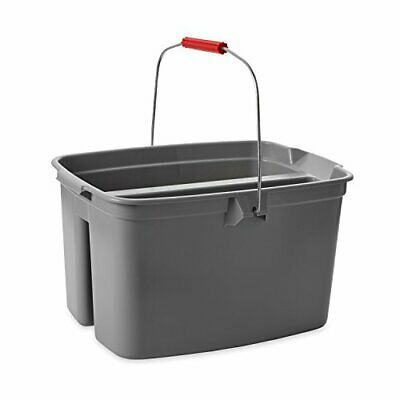 Ad Ebay Url Rubbermaid Commercial Double Pail Plastic Bucket 19 Quart Gray Fg262888gray In 2020 Plastic Buckets Adjustable Closet System Plastic Pail