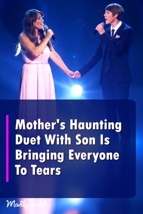 Mother's Touching Duet With Son on 'Britain's Got Talent' Is Bringing Everyone To Tears