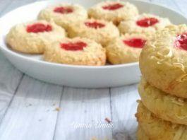 Resep Strawberry Thumbprint Tanpa Oven Tanpa Mixer By Ummu Umar Makanan Resep Soda Kue