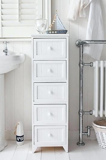 Modern Bathroom Tables With Drawers