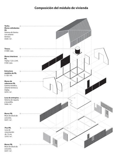 Gallery of Jalisco, Mexico: Prototype for INFONAVIT, by ZD