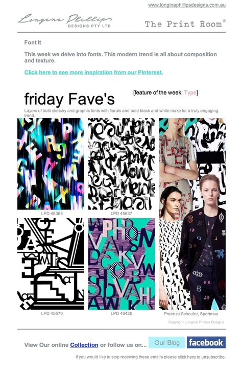 friday Fave's 21st February 2014