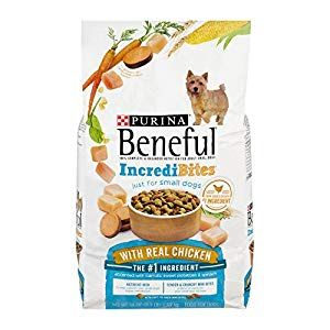 Purina Beneful Incredibites With Chicken Dry Dog Food 3 5 Lb Bag