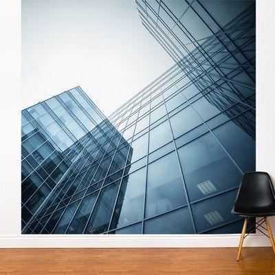 Ebern Designs Nordham Modern Reflection Wall Mural Real Estate Photography Wall Murals Real Estate