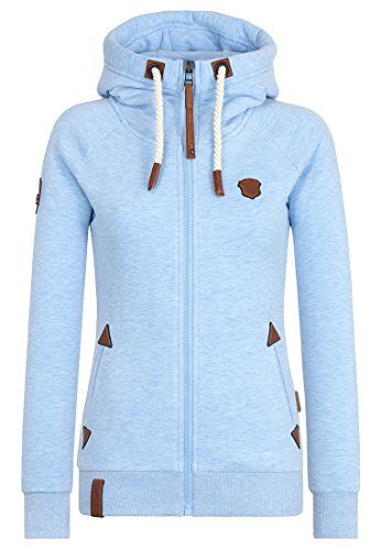 Naketano Damen Zipper Jacke Blonder Engel Tolle Hoodie