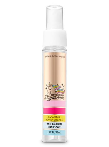 Sugared Honeysuckle Hand Sanitizer Spray Bath Body Works