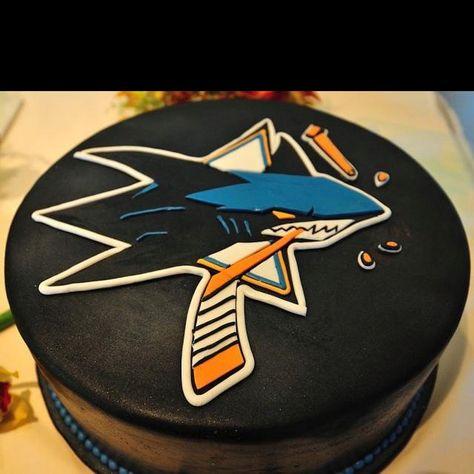Amazing San Jose Sharks San Jose Sharks Shark Birthday Cakes Sport Cakes Funny Birthday Cards Online Inifofree Goldxyz