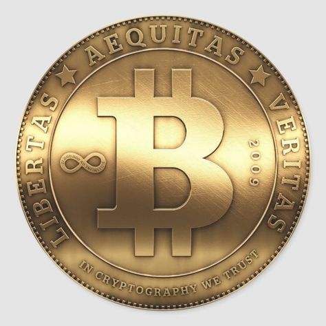 Bitcoin Currency Coin Symbol Sticker Size: Large,3 inch (sheet of 6). Gender: unisex. Age Group: adult.