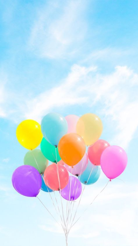 Pastel Balloons Pink Wallpaper Iphone Colorful Wallpaper Flower Phone Wallpaper