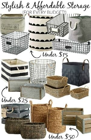 of the best affordable baskets, bins and crates for organizing your entire house! of the best affordable baskets, bins and crates for organizing your entire house! Affordable Storage, Affordable Home Decor, Budget Storage, Storage Ideas, Fintorp Ikea, Decorating Your Home, Diy Home Decor, Buy Decor, Decorating Games