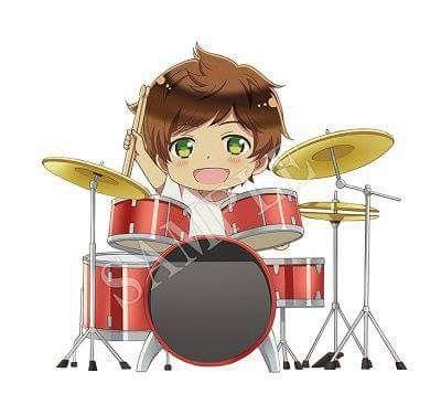 Spain Is The Best Drummer Around Anime Hetalia Cute Anime Boy