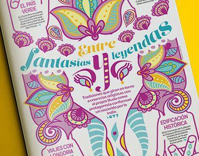 "Check out new work on my @Behance portfolio: ""INDIA, entre fantasías y leyendas"" http://on.be.net/1C3jBWk"