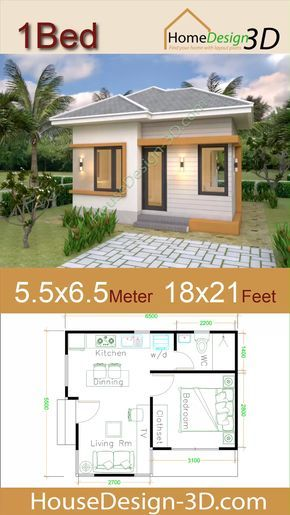 Pin By Ivan Sang Che Aiyabei On Small House Plans House Plans Modern House Plans One Bedroom House