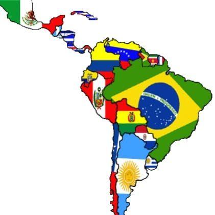 Pin De Ivania En Educación Financiera Mapa De America Latina Mapa De America Mapa De America Del Sur