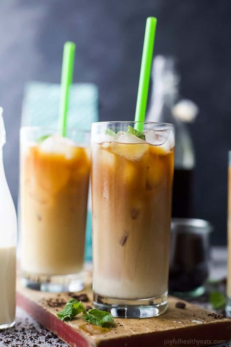 Homemade Sweet Cream Iced Coffee Recipe Best Iced Coffee Homemade Iced Coffee Coffee Recipes