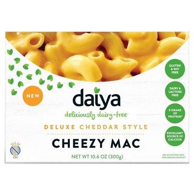 Daiya Dairy Free Deluxe Cheddar Style Cheezy Mac 10 6 Oz In 2020 Dairy Free Mac And Cheese Vegan Mac And Cheese Dairy Free