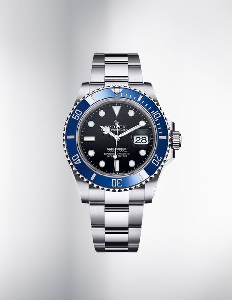 Lux Watches, Luxury Watches For Men, Wrist Watches, Sport Watches, Unique Watches, Rolex Submariner Blue, Submariner Date, New Rolex, Telling Time