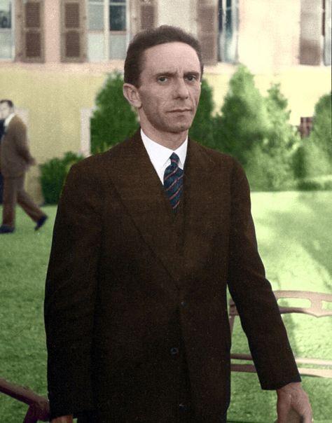 Josef Goebbels - Trump's, Stephen Miller is channeling Hitler's Minister of Propaganda.