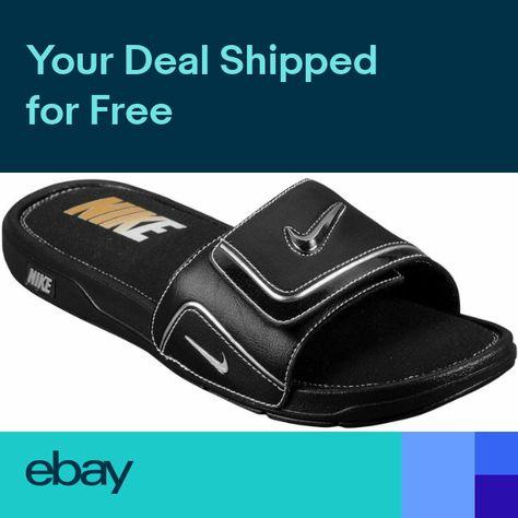 4ef0490e2026e Nike Comfort Slide 2 Mens Sport Sandals Slippers Athletic Flip Flops Nike  Soft