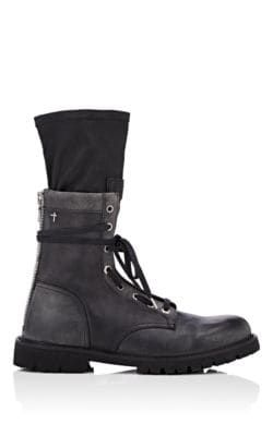 a3ac284313b RTA DISTRESSED LEATHER COMBAT BOOTS - BLACK SIZE 9 M. #rta #shoes ...