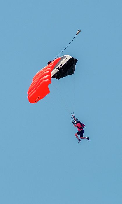 Steep Angle Skydive City Skydiving Extreme Sports