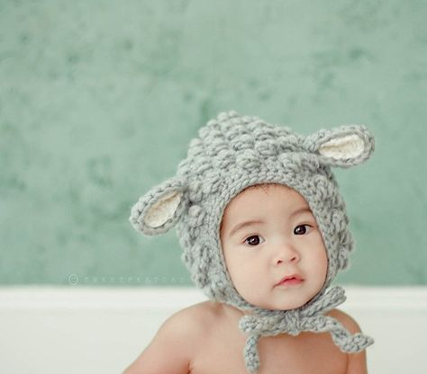 cute baby crochet hats etsy site so adorable