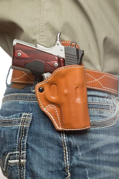 Pin On Leather Gun Holster