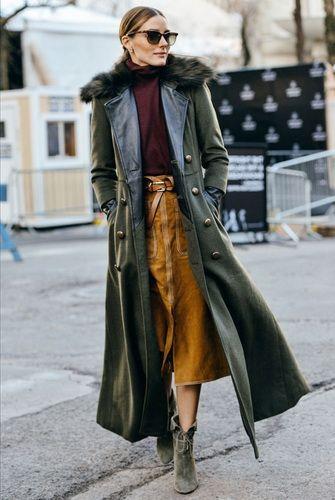 Зимние и демисезонные женские пальто-2017 с меховым ...