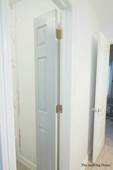 Diy Petite Double Doors From Bifold Doors In 2020 Bifold Doors Door Stopper Diy Shaker Style Doors