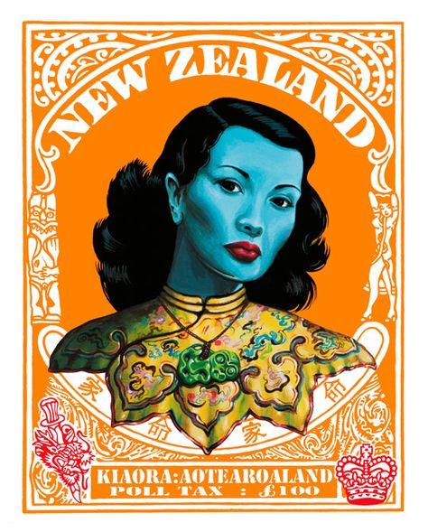 Asian model tanya maori