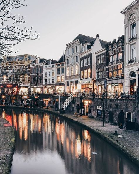 most likely Utrecht, Holland Holland Travel Destinations Honeymoon Backpack Backpacking Vacation Europe Budget Bucket List Wanderlust Utrecht, The Places Youll Go, Places To See, Places To Travel, Travel Destinations, Travel Tips, Travel Goals, Budget Travel, Time Travel