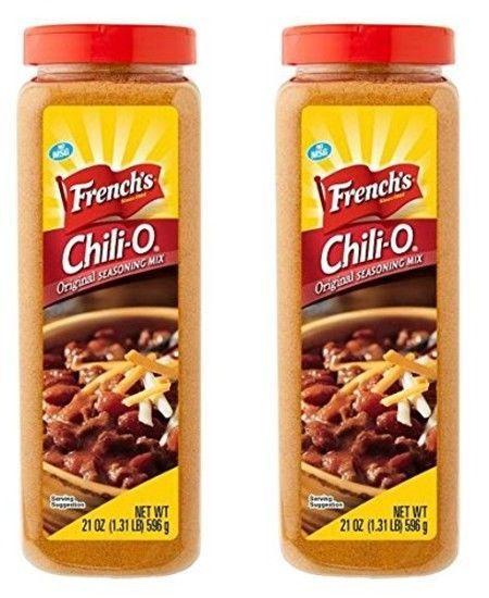 French S Chili O Original Seasoning Mix 21 Ounce Pack Of 2 Frenchs Seasoning Mixes Gourmet Recipes French S